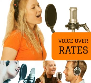 Voice Over Artist Rates, Prices & Costs
