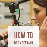 How To Do A Voice Over